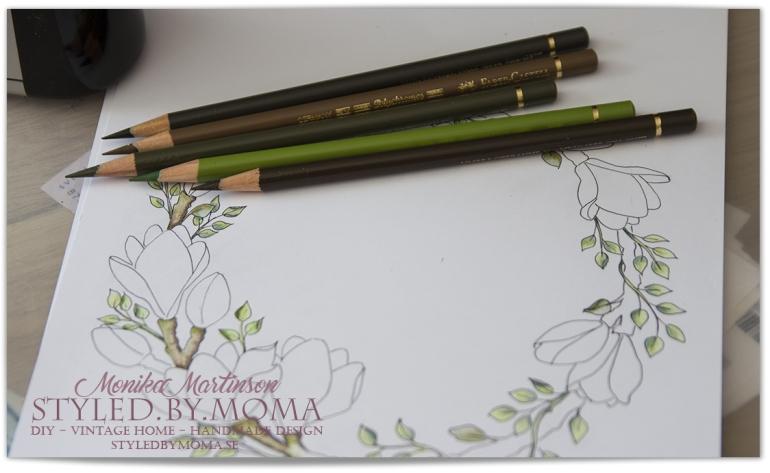 magnoliakrans 2 delvis